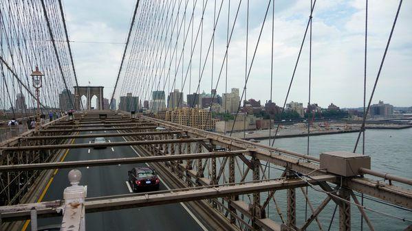 New York Vue sur Brooklyn