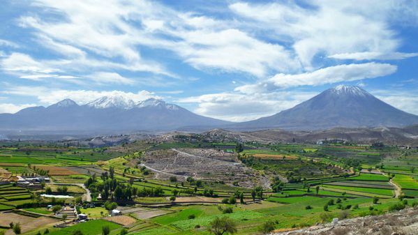 arequipa volcan - Photo
