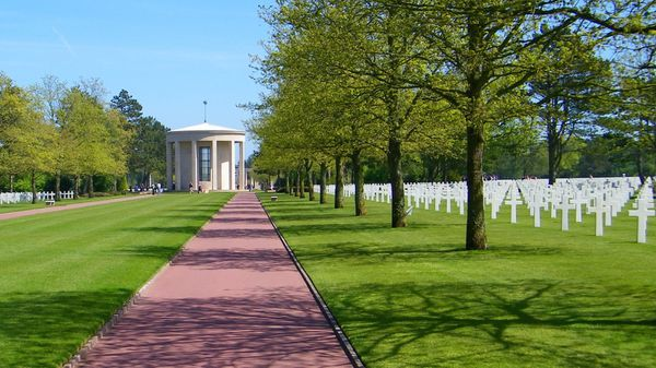 American Cemetery Normandy Colleville-sur-mer 009