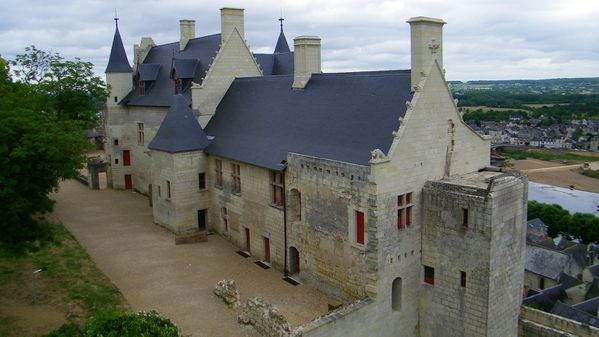 1611 Les logis royaux, 15th Century, Chinon