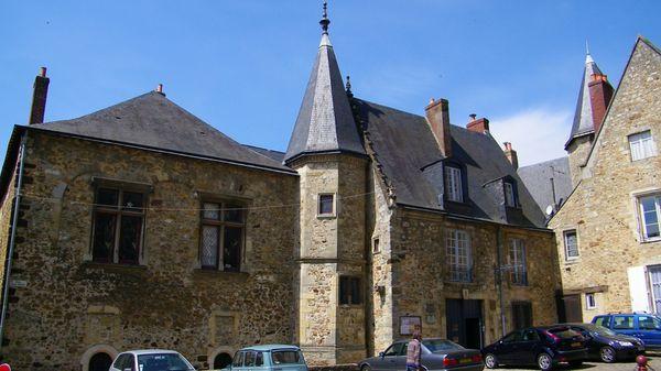 1018 La maison de Scarron, Cité Plantagenêt au Mans