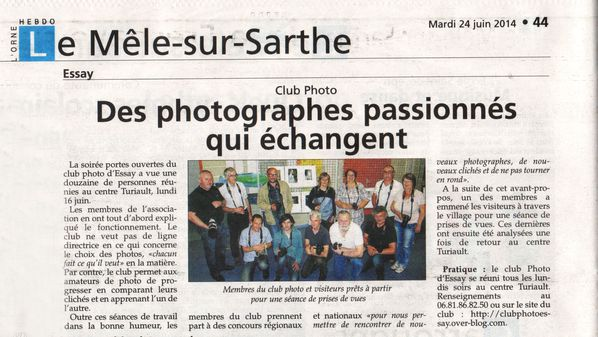 Club photo du pays d'essay