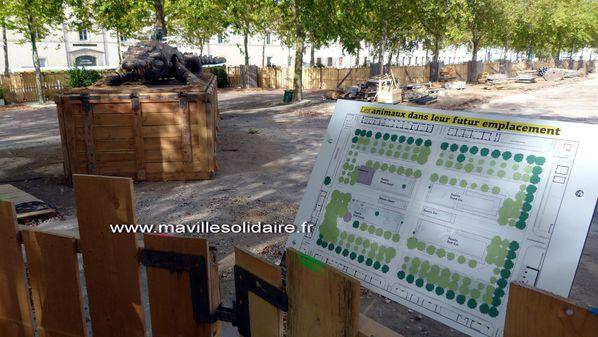 Place Napoléon 20 septembre 2012 La Roche-sur-Yon (55)