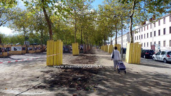 La Roche-sur-Yon Place napoléon travaux 27 septem-copie-6