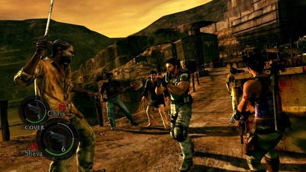 Test de resident evil 5 de performance pc