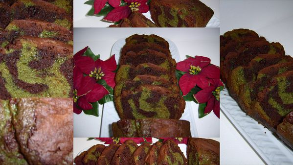cake choco pistache