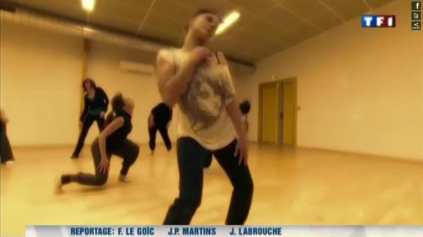Milly TF1 danseuses
