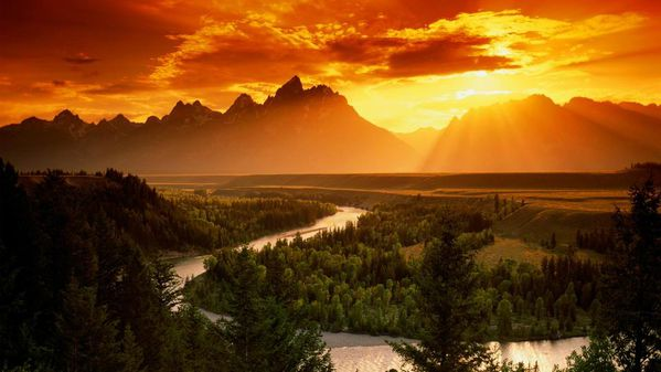 Snake River Grand Teton National Park Wyoming