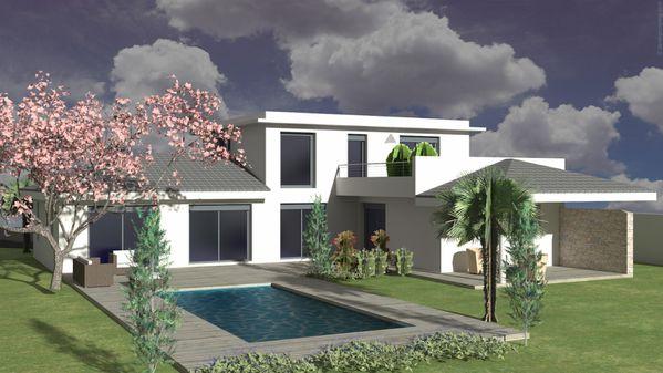 Belles maisons contemporaines a cestas le blog de for Belles maisons contemporaines