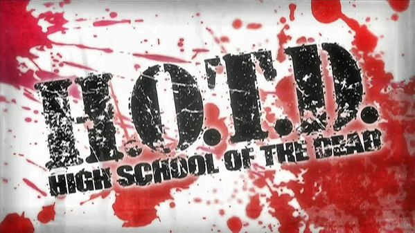 highschool of the dead opening logo
