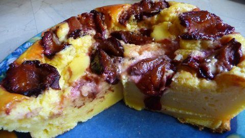 TARTE FROMAGE QUETSCHES