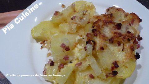gratin de pommes de terre au fromage le blog de pia. Black Bedroom Furniture Sets. Home Design Ideas