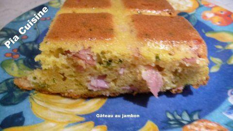 Gâteau au jambon (2)