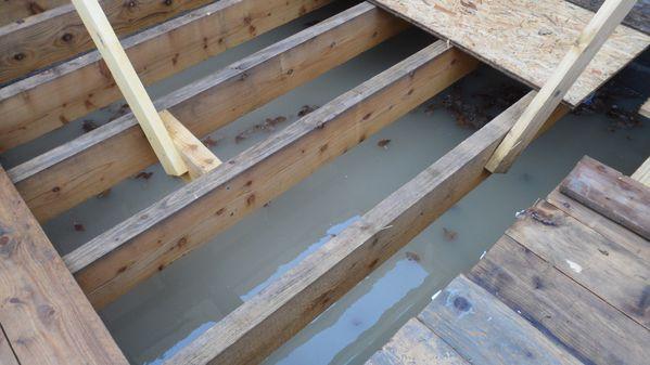 Inondation autoconstruction maison ossature bois loiret for Autoconstruction piscine bois