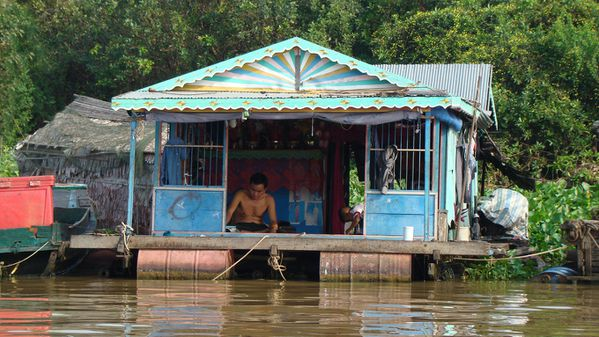 Lac Tonle Sap Cambodge 
