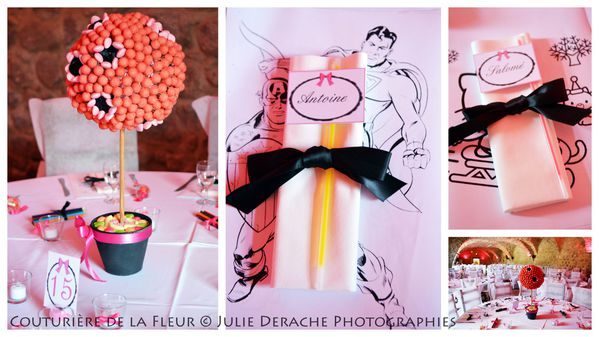 Candy Bar Boudoir Rose et Noir (4)