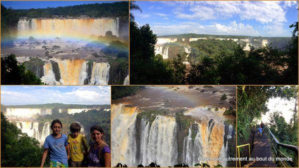 1 les chutes d'Iguazu2