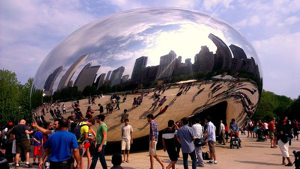 Anish Kapour Cloud Gate