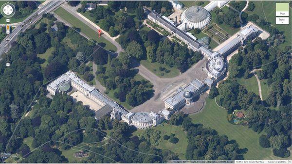 Belgique ! Une vue aérienne époustouflante du domaine Royal de Laeken