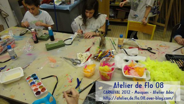 Atelier deFlo 08-Carnaval-Masques 1