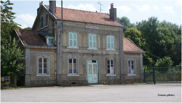 ancienne gare ( désaffectée) de Saint Riquier (80)