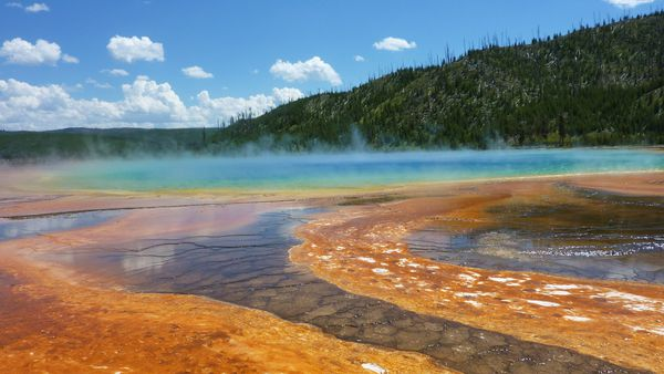 Jour 10 Yellowstone Midway Basin Grand Prismatic