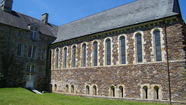 054 Réfectoire, Abbaye de La Lucerne-d'Outremer
