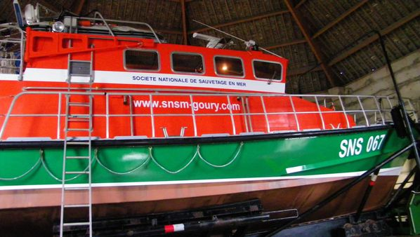 103 Rescue Staion Boat, Goury