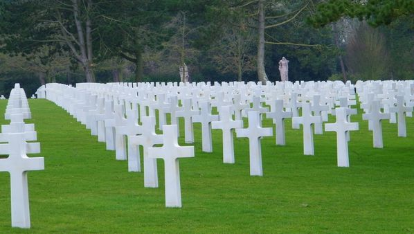 284 American Cemetery at Omaha Beach, Colleville-sur-Mer
