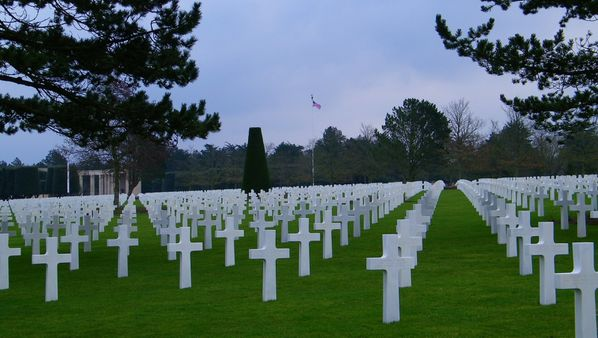 285 American Cemetery at Omaha Beach, Colleville-sur-Mer