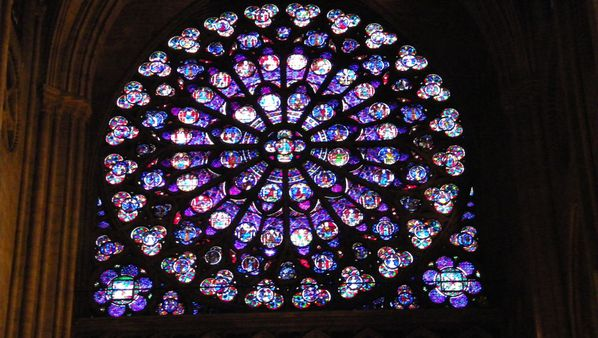 216e South Rose Window, Cathédrale Notre-Dame de Paris