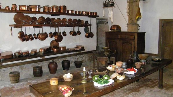 198 Kitchen, Château de Carrouges