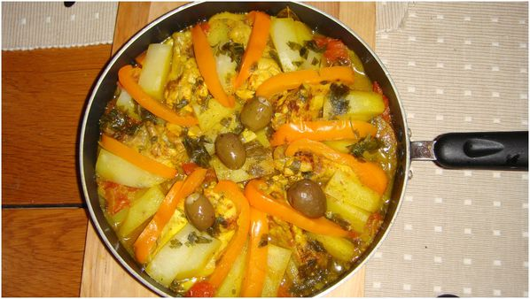 beef tagine with bell pepper de Sylvia