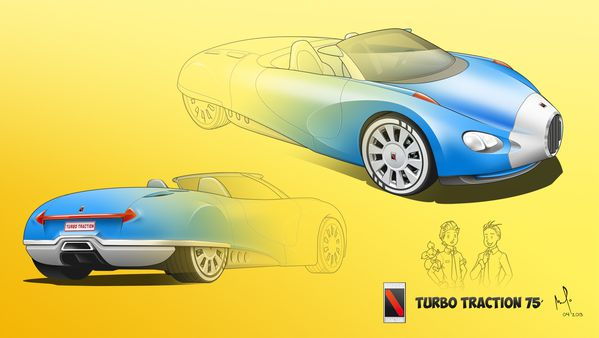 fondecran turbot traitsautomobile