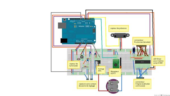 Arduino Sketch - Max7219 1.2