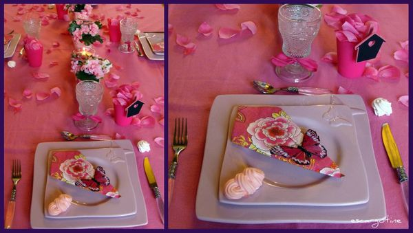 collage table rose 3