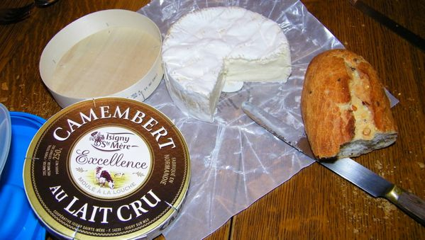 158 Camembert Cheese after dinner