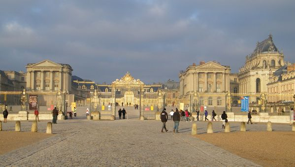 237 The Great Courtyard of Versailles