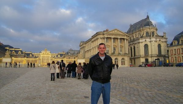 238 The Royal Courtyard of Versailles