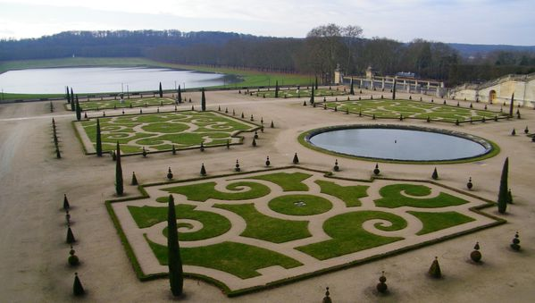 284 The South Parterre, Versailles