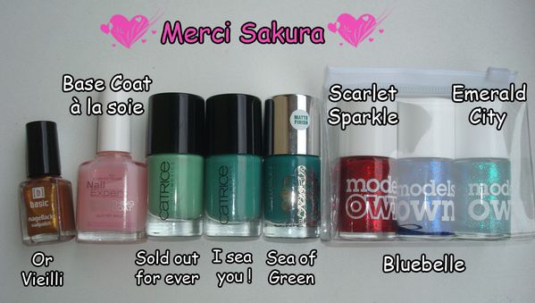Vernis Catrice et Models Own