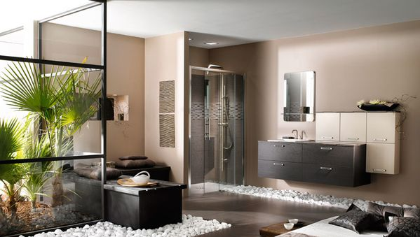 salle de bain zen notre future maison. Black Bedroom Furniture Sets. Home Design Ideas