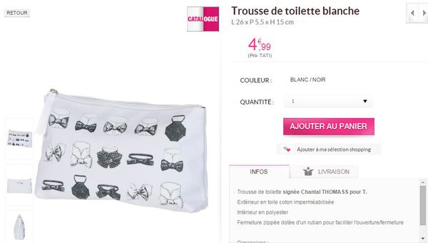 TROUSSE CHANTAL THOMAS TATI