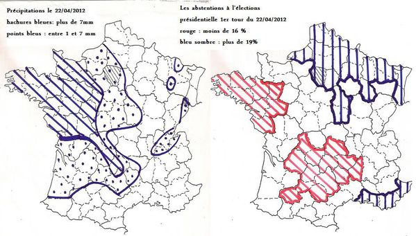 pluie abstentions