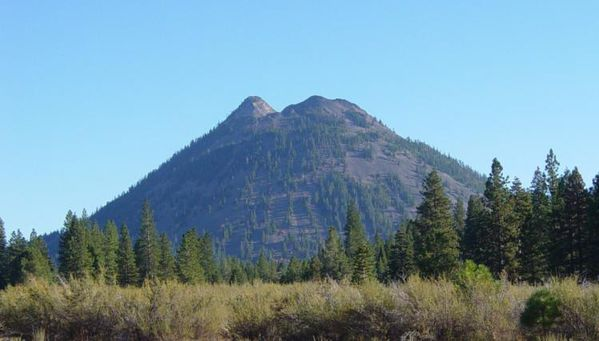 Black Butte from Weed, California-750px