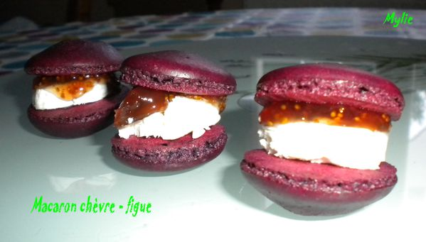 macarons chèvres figues 1