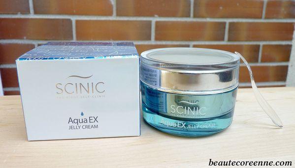 Aqua ex jelly cream SCINIC