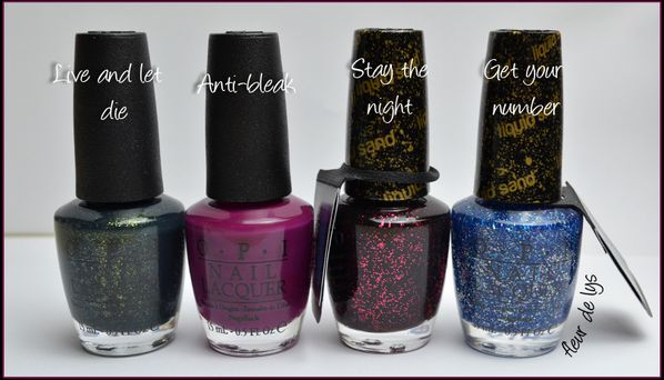 OPI Collection Mariah Carey