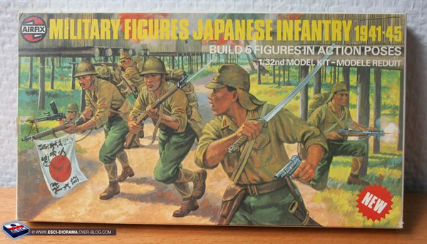 Airfix-Multipose-figures---Japanese-Infantry-1941-45---1