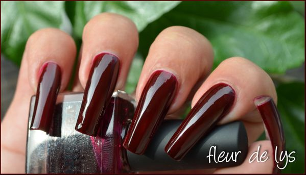 Vernis ongles hemoglobine